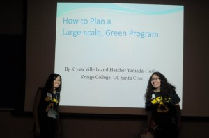 Presentation on large scale green events